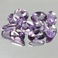 gemstone: แอเมทีสต์-Amethyst size: 8.0x6.0 carat: 10.65Ct.