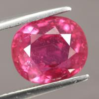 gemstone: ทับทิม-Ruby size: 9.6x8.5x6.0 carat: 4.80Ct.