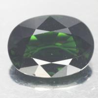 gemstone: กรีนทัวมาลีน-Green Tourmaline size: 11.4x8.8x5.5 carat: 3.75Ct.