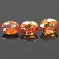 gemstone: ออเร็นจ์ซัฟไฟซ์-Orange sapphire size: 5.0x4.0 carat: 1.45Ct.