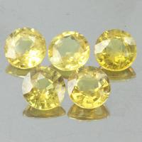 g1-203-54  บุษย์ราคัมน้ำเพชร yellow sapphire