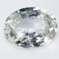 gemstone: เพทาย (Zircon) size: 9.1x7.0x4.0 carat: 2.67Ct.
