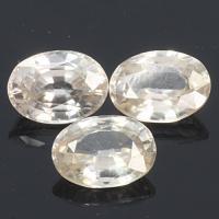 gemstone: เพทาย (Zircon) size: 8.0x6.0 carat: 5.20Ct.