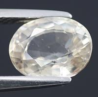 gemstone: เพทาย (Zircon) size: 9.0x7.2x4.5 carat: 3.08Ct.