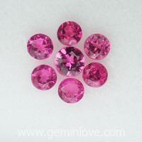 g1-257-52 pink tourmaline อัญมณีสีชมพู