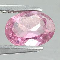 gemstone: พิงค์ทัวมาลีน-Pink Tourmaline size: 8.0x6.0 carat: 1.12Ct.