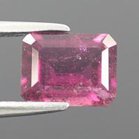 gemstone: พิงค์ทัวมาลีน-Pink Tourmaline size: 9.0x7.0x4.5 carat: 2.29Ct.
