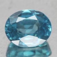 gemstone: เพทาย (Zircon) size: 7.7x6.1x4.4 carat: 2.46Ct.