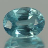 gemstone: เพทาย (Zircon) size: 8.2x6.1x4.0 carat: 2.29Ct.