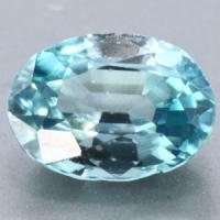 gemstone: เพทาย (Zircon) size: 7.6x5.0x3.8 carat: 1.80Ct.