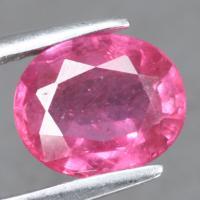 gemstone: ทับทิม-Ruby size: 8.9x7.9x4.1 carat: 2.65Ct.