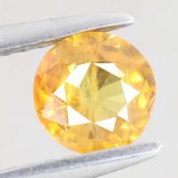yellow sapphire พลอยบุษราคัม g1-374-15