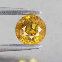 g1-374-22  yellow sapphire พลอยบุษราคัม