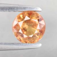 yellow sapphire พลอยบุษราคัม g1-374-25