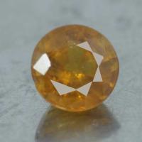 g1-374-35 พลอยบุาราคัม yellow sapphire