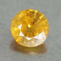yellow sapphire พลอยบุษราคัม g1-374-40
