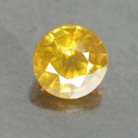 yellow sapphire พลอยบุษราคัม g1-374-43