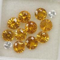 g1-374-8 yellow sapphire พลอยบุษราคัม