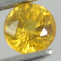 yellow sapphire พลอยบุษราคัม g1-375-23