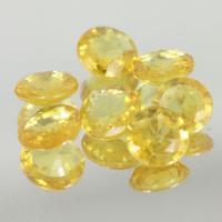 g1-375-43  yellow sapphire พลอยบุษราคัม