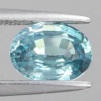 gemstone: เพทาย (Zircon) size: 8.0x6.0 carat: 1.98Ct.