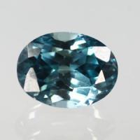 g1-376-33 blue zircon พลอยเพทายฟ้า