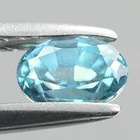 gemstone: เพทาย (Zircon) size: 6.0x4.2 carat: 0.95Ct.