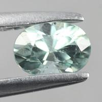 gemstone: เพทาย (Zircon) size: 6.0x4.1 carat: 1.53Ct.