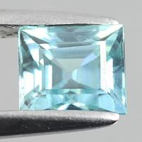 gemstone: เพทาย (Zircon) size: 6.0x5.3x4.2 carat: 1.55Ct.