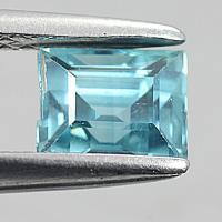 gemstone: เพทาย (Zircon) size: 5.8x4.7 carat: 1.44Ct.