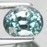 g1-376-86 zircon พลอยเพทายฟ้า