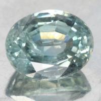 gemstone: เพทาย (Zircon) size: 8.6x6.8x4.7 carat: 3.05Ct.