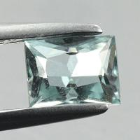 gemstone: อะคัวมารีน-Aquamarine size: 6.2x4.8x3.5 carat: 0.75Ct.