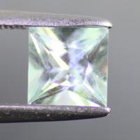 gemstone: อะคัวมารีน-Aquamarine size: 6.0x6.0 carat: 1.03Ct.