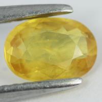 yellow sapphire พลอยบุษราคัม g1-488-10