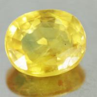 yellow sapphire พลอยบุษราคัม g1-488-11