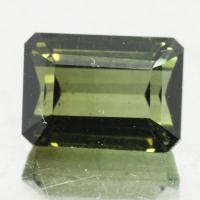 gemstone: กรีนทัวมาลีน-Green Tourmaline size: 8.7x6.3x5.5 carat: 2.76Ct.