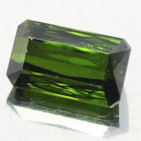 gemstone: กรีนทัวมาลีน-Green Tourmaline size: 9.3x5.5x4.6 carat: 2.29Ct.