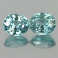 g1-517-1 Blue Zircon พลอยเพทาย