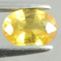yellow sapphire พลอยบุษราคัม g1-559-41