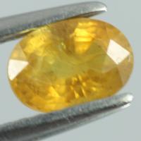 yellow sapphire พลอยบุษราคัม g1-559-49