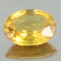 yellow sapphire พลอยบุษราคัม g1-559-53
