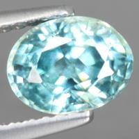 g1-563-10 Blue Zircon พลอยเพทาย