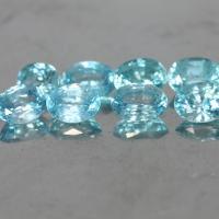g1-563-11 blue zircon พลอยเพทาย
