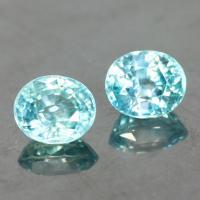 g1-563-12 blue zircon พลอยเพทาย