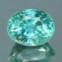 g1-594-11 Blue zircon พลอยเพทาย