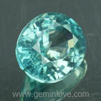 g1-594-19 Blue Zircon พลอยเพทาย