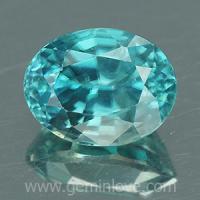 g1-594-25 Blue Zircon พลอยเพทาย