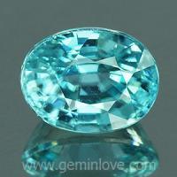 g1-594-27 Blue Zircon พลอยเพทาย