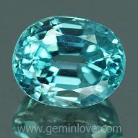 g1-594-29 Blue Zircon พลอยเพทาย
